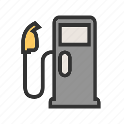 diesel, fuel, gas, gasoline, petrol, refueling, transportation icon