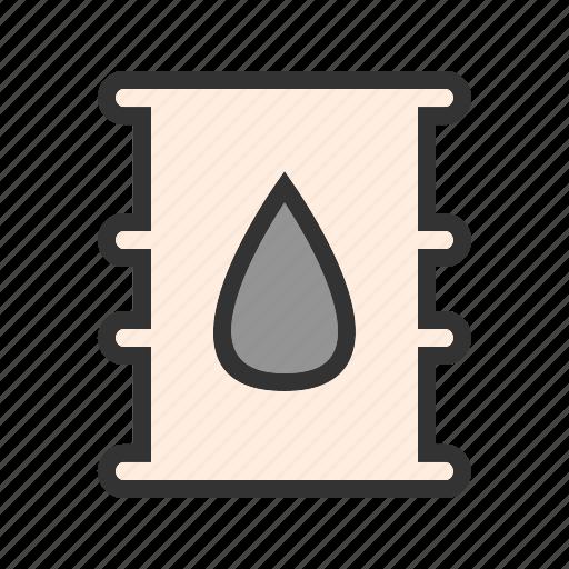 barrel, container, diesel, fuel, gas, oil, tank icon