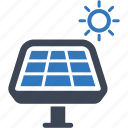 panel, power, solar icon