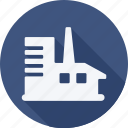 ecology, energy, environment, factory, industry, nature, power, solar icon