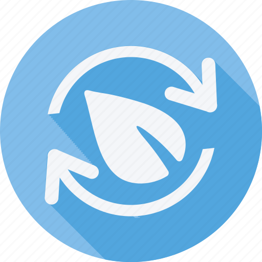 Ecology, energy, environment, solar, recycling, leaf, recycle icon - Download on Iconfinder