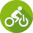 bicycle, ecology, energy, environment, nature, power, solar icon