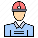 construction, engineer, work, worker icon