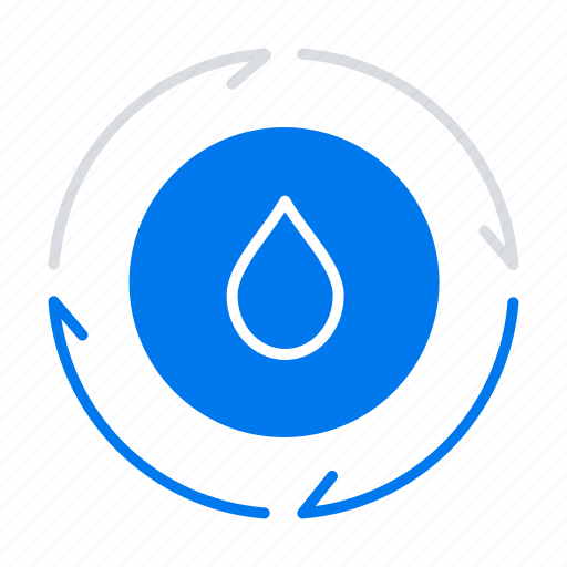 energy, nature, power, water icon