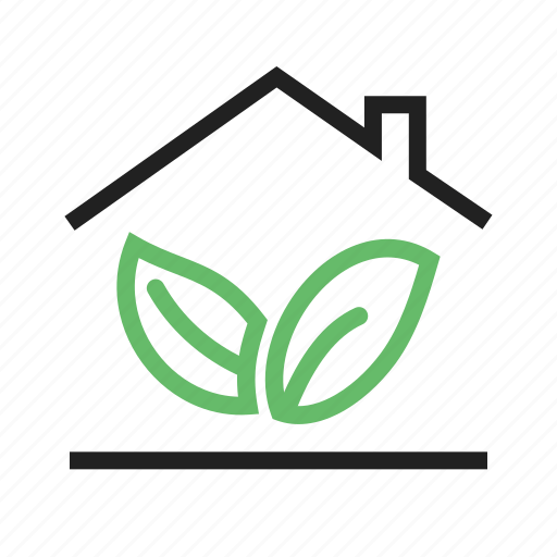 ecology, energy, environment, forest, green house, nature, recycling icon