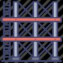 build, construction, scaffold, scaffolding icon