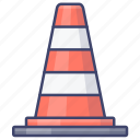 cone, construction, road, traffic