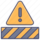 constructuion, danger, signs, warning icon