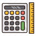 accounting, calc, calculation, math icon