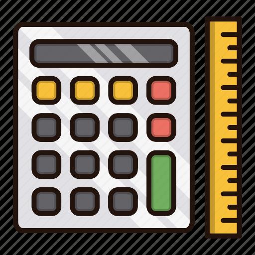 accounting, calc, calculation, math icon