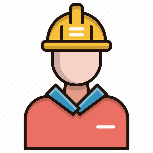 avatar, engineer, person, worker icon