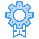 award, engineer, factory, industrial, manufacturing, trophy icon