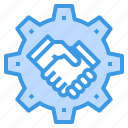 connection, contact, engineer, factory, industrial, manufacturing icon