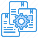engineer, factory, files, industrial, manufacturing icon
