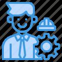 avatar, engineer, man, occupation, worker