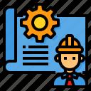 architecture, blueprint, construction, engineering, plan