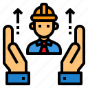 construction, engineer, hand, manufacturing, worker