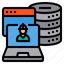 administrator, engineer, laptop, server, storage