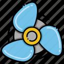 cooler, fan, propeller, ventilator