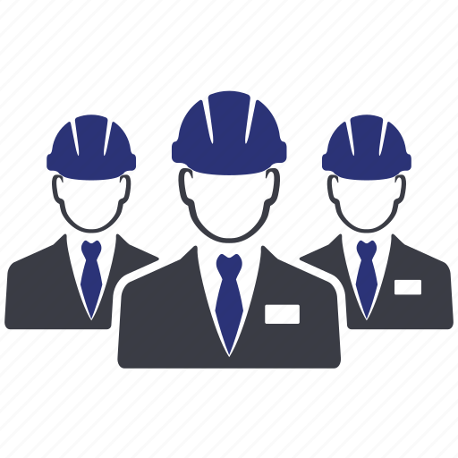 avatar, business, engineer, group, manager, person, worker icon
