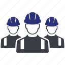 avatar, builder, construction, group, man, users, worker icon