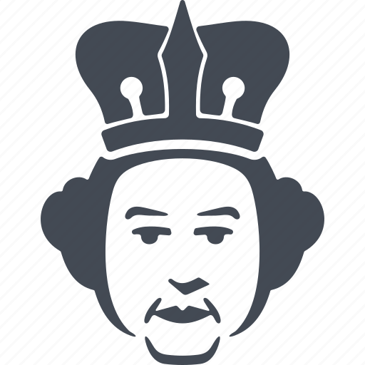 crown, england, king, symbol of power icon