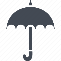 england, parasol, rain protection, umbrella icon