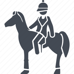 england, equestrian, horse, rider icon