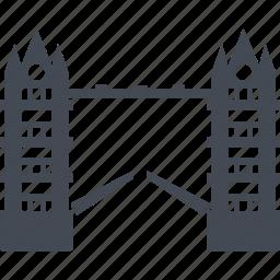 bridge, drawbridge, england, leaf bridge icon