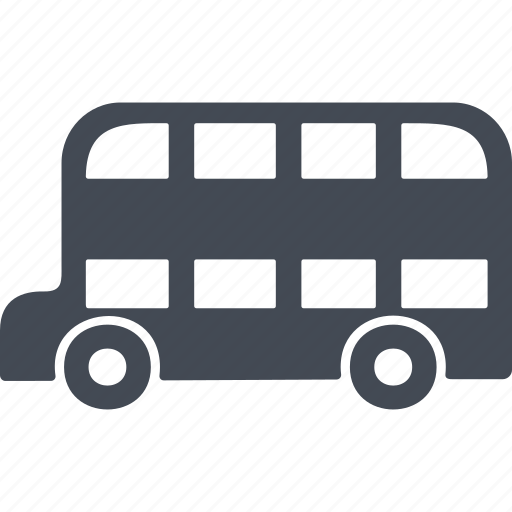 bus, england, passenger bus, transportation icon
