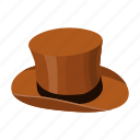 gentleman, hat, headdress, top hat icon