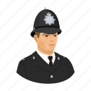 cop, man, policeman, profession, uniform icon