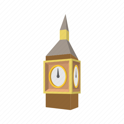 ben, big, building, cartoon, england, landmark, london icon
