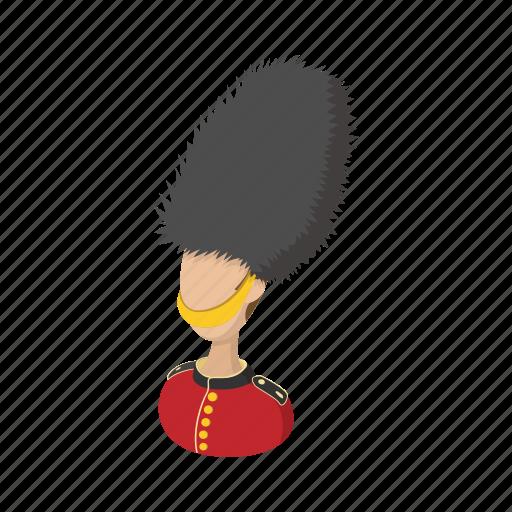 cartoon, england, guard, london, palace, soldier, uk icon