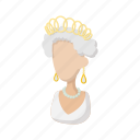 british, cartoon, elizabeth, england, english, queen, royal icon