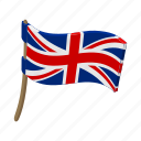 britain, cartoon, england, flag, kingdom, national, united icon