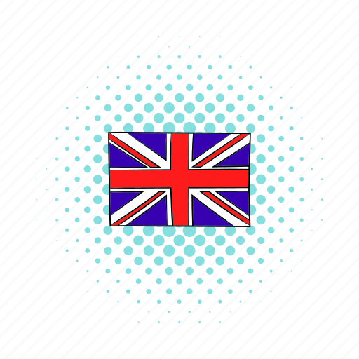 britain, comics, england, flag, kingdom, living pictogram, united icon