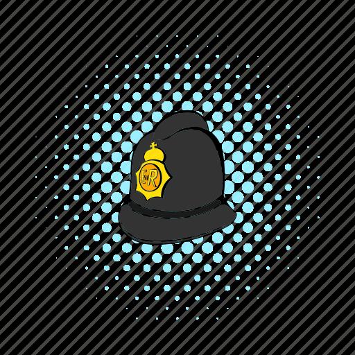 authority, british, comics, crime, hat, london, police icon