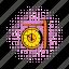 clock, comics, hour, minute, station, train, vintage icon