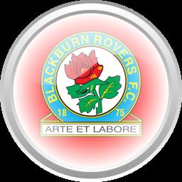 black brun rover, flag, football, premier english icon