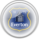 everton, flag, football, premier english icon