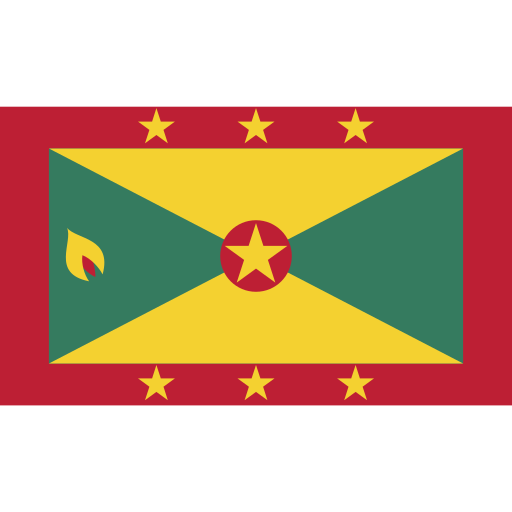 ensign, flag, grenada, nation icon