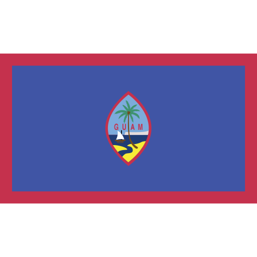 ensign, flag, guam, nation icon