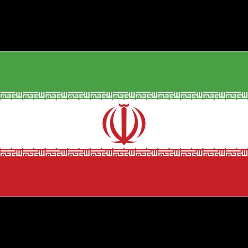 ensign, flag, iran, nation icon