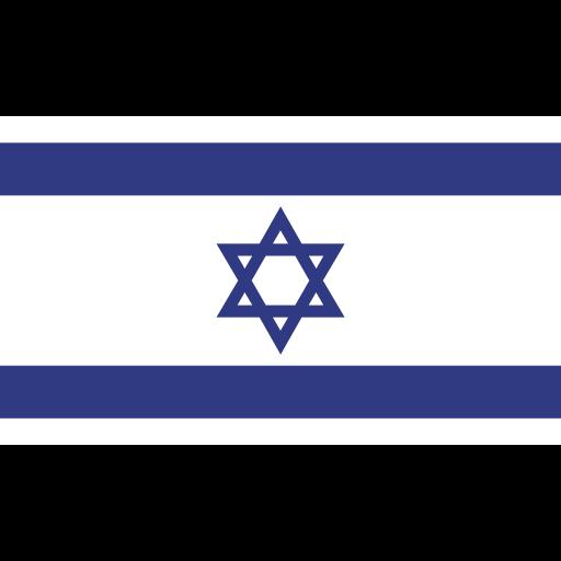 ensign, flag, israel, nation icon