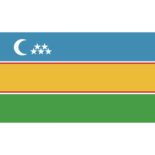 ensign, flag, karakalpakstan, nation icon