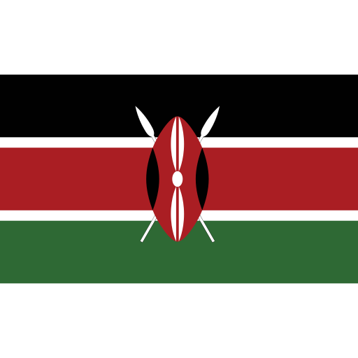 ensign, flag, kenya, nation icon