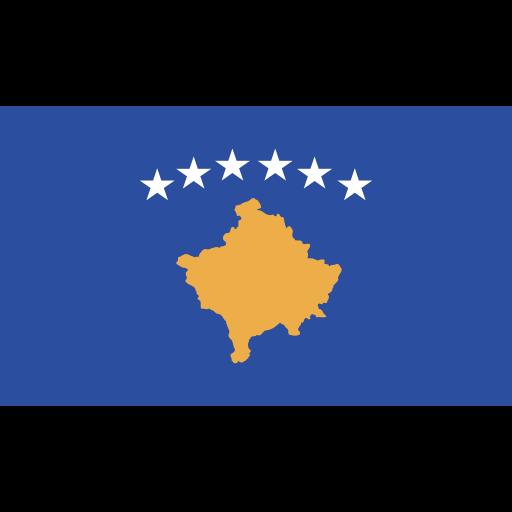 ensign, flag, kosovo, nation icon
