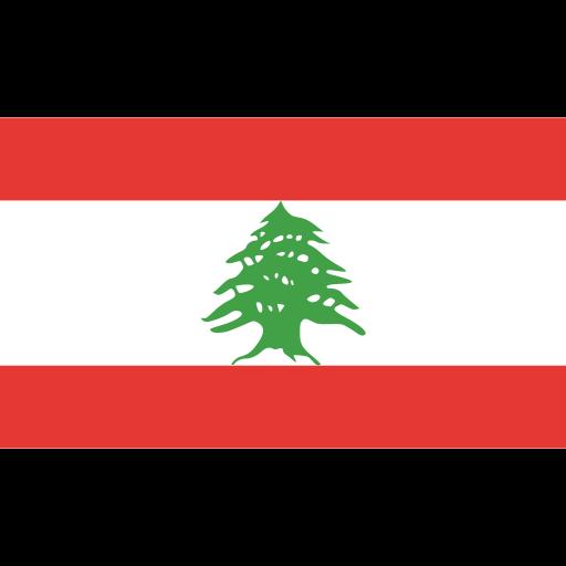 ensign, flag, lebanon, nation icon
