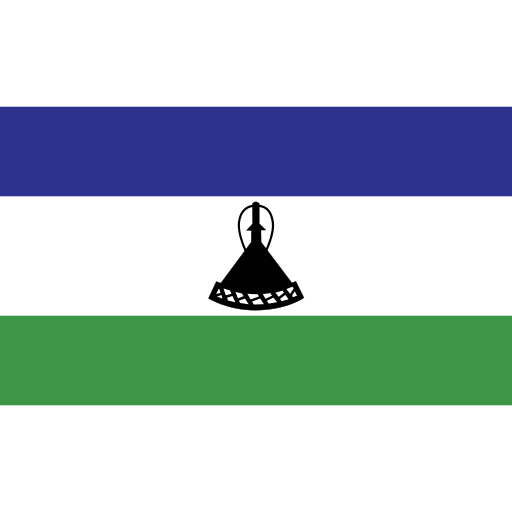 ensign, flag, lesotho, nation icon